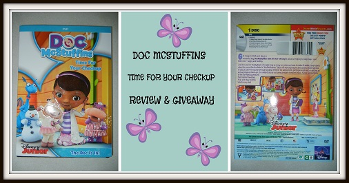 Doc McStuffins – Time For Your Check Up – #Giveaway