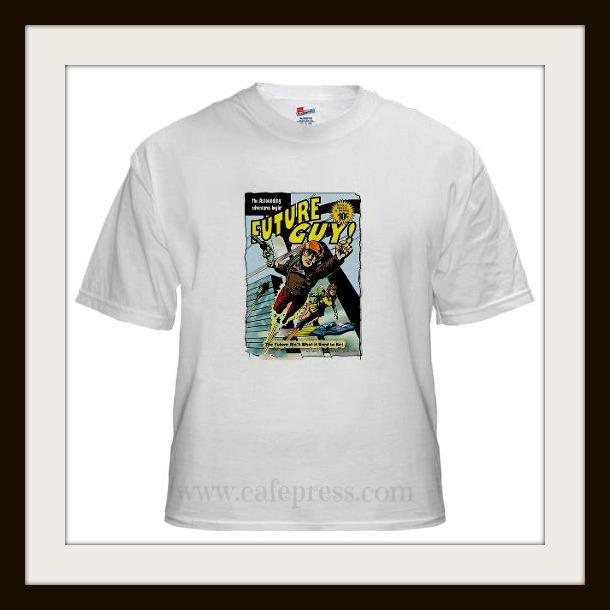 Peter McPhee Future Guy t-shirt