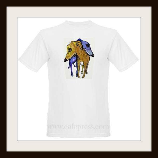 Peter McPhee cafe press greyhound dog t-shirt