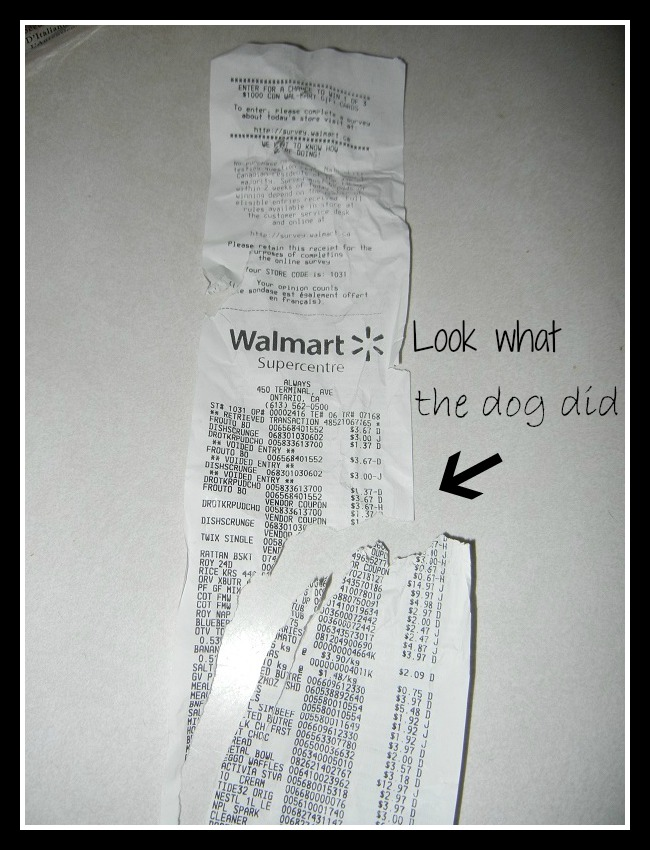 checkout 51 Canadian grocery app walmart receipt