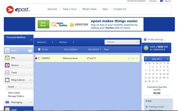 ePostWelcomeScreen#Shop