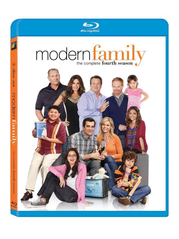 Modern Family S4 Blu-ray