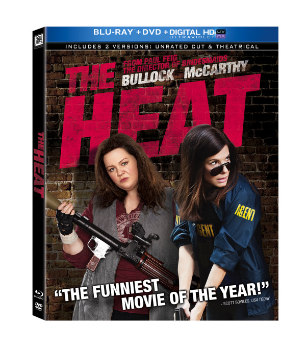 The Heat: Starring Sandra Bullock & Melissa McCarthy ~ Available On Blu-Ray & DVD October 15th ~ #Giveaway
