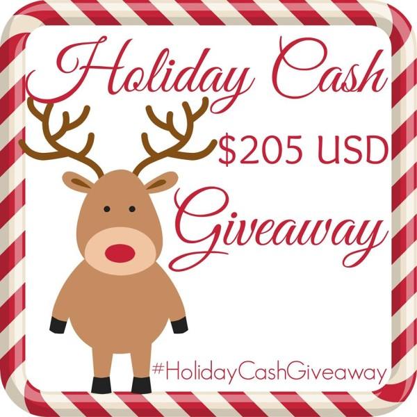 HolidayCashGiveaway$205US