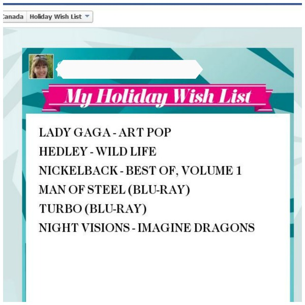 HMVCanadaOurList#HMVHoliday#Shop