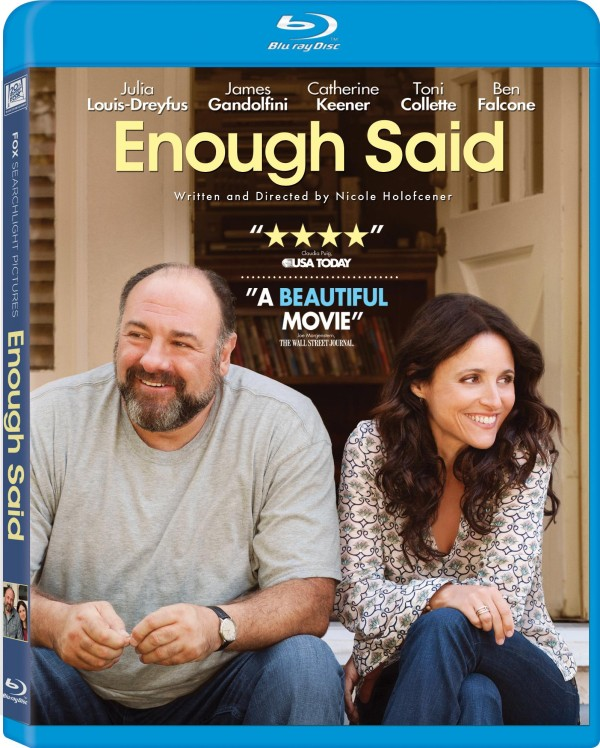 Enough Said ~ Starring Julia Louis-Dreyfus & James Gandolfini ~ #GIVEAWAY