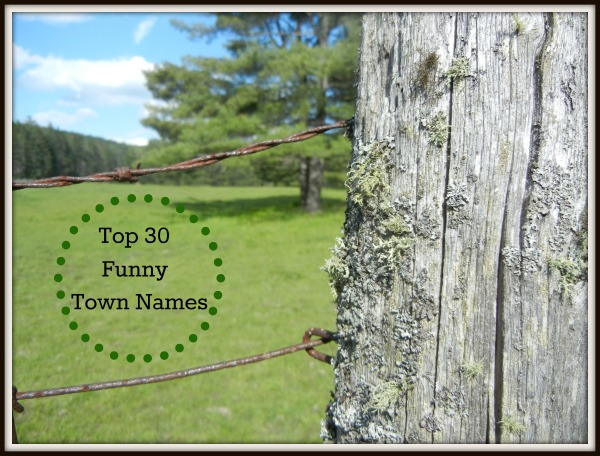 Hell Freezes Over Top 30 List Of Funny Town Names
