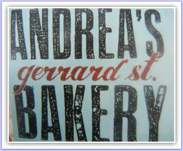 Andrea's Gerrard Street Bakery ~ Traditional Home Baked Goods