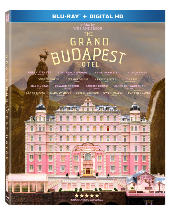 The Grand Budapest Hotel ~ Available On DVD/Blu-Ray June 17, 2014 #Giveaway