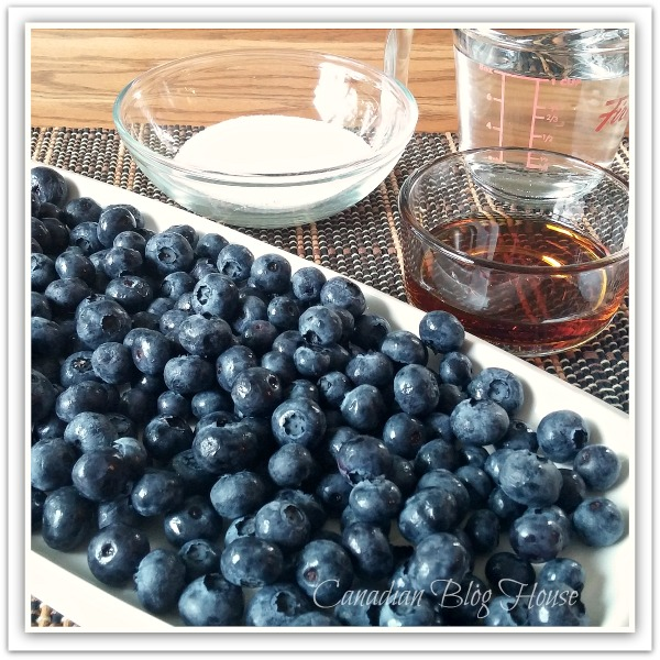 MouthWateringMapleBlueberrySauceIngredients