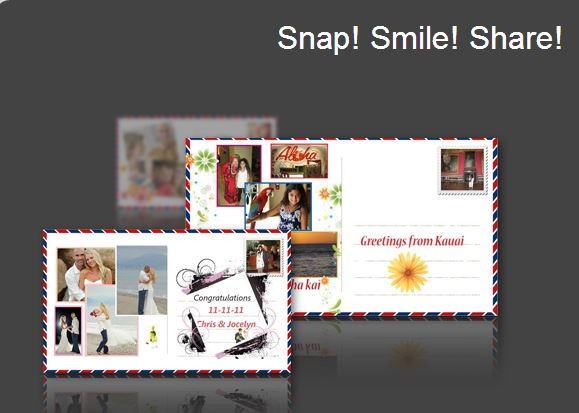 snap smile and share