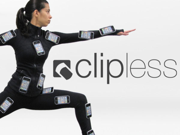 Clipless Mobile Phone Device