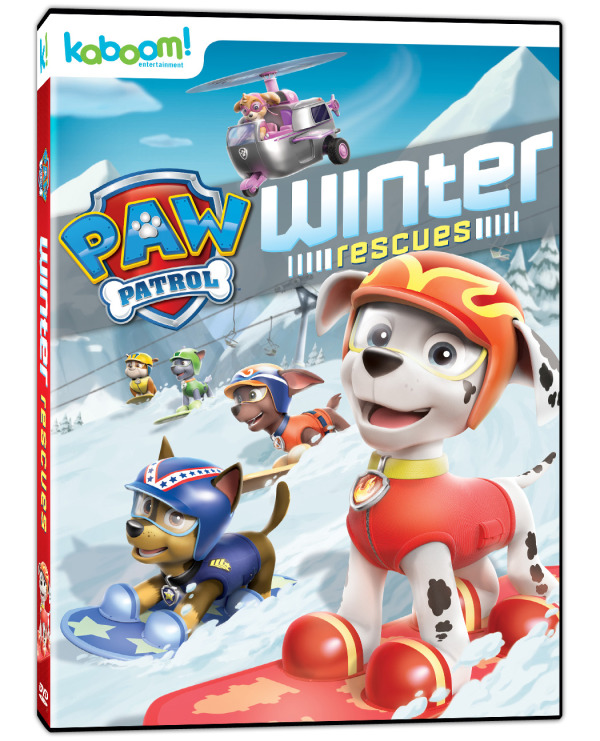 Hey Canada! PAW Patrol – Winter Rescues Is Here! #Review #Giveaway