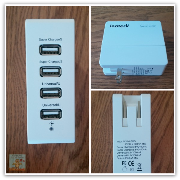 Inateck 4 Port USB Wall Charger