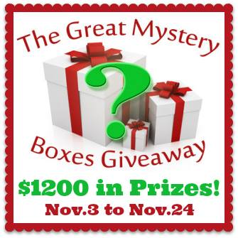 Surprise! It's The Great Mystery Boxes Giveaway! Over $1200 In Prizes!