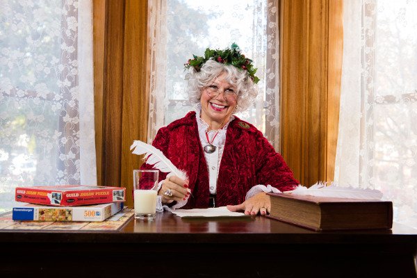 Heart Healthy Mrs. Claus