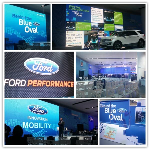 FordSignageBehindTheBlueOval