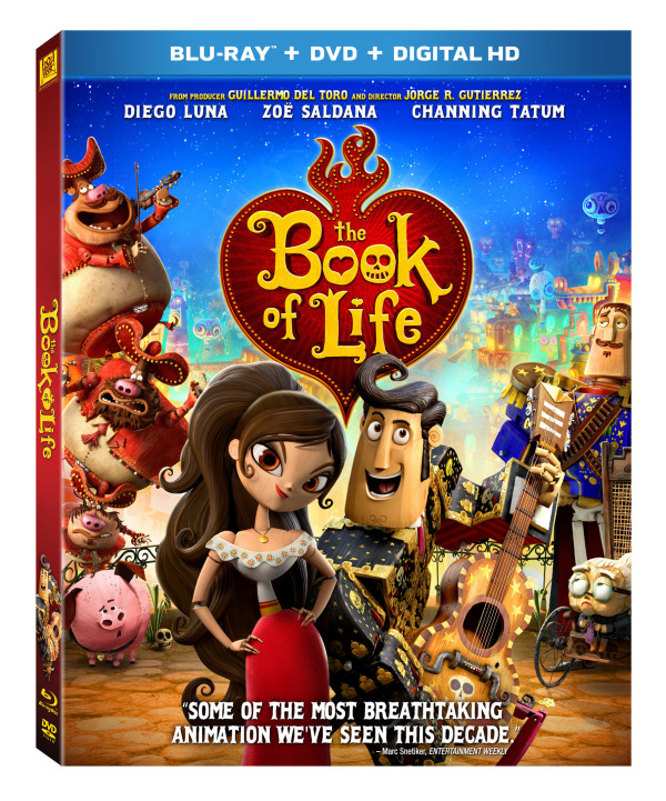 The Book Of Life – The Ultimate Family Adventure #Giveaway