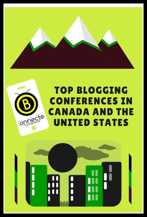 TopBloggingConferencesCanadaUnitedStates