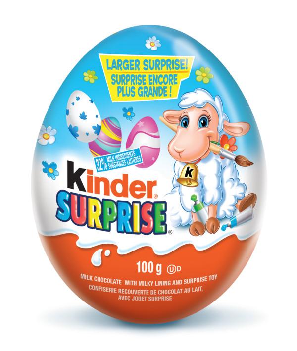 Kinder Surprise Easter Egg 100g Classic Lamb