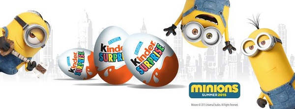 KINDER® Canada And The Minions Team Up! WIN A $40 KINDER® Canada Prize Pack!