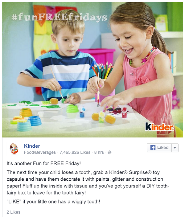 KinderFacebook