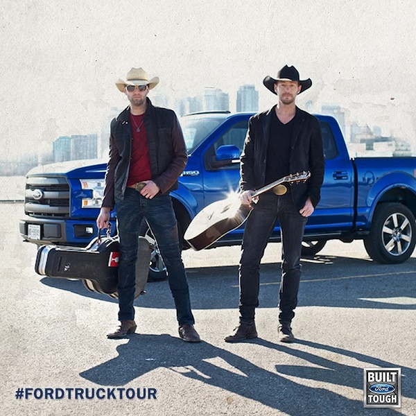 Road Trip Tour VIP Experience ~ Paul Brandt, Dean Brody, Me, and YOU! #FordTruckTour