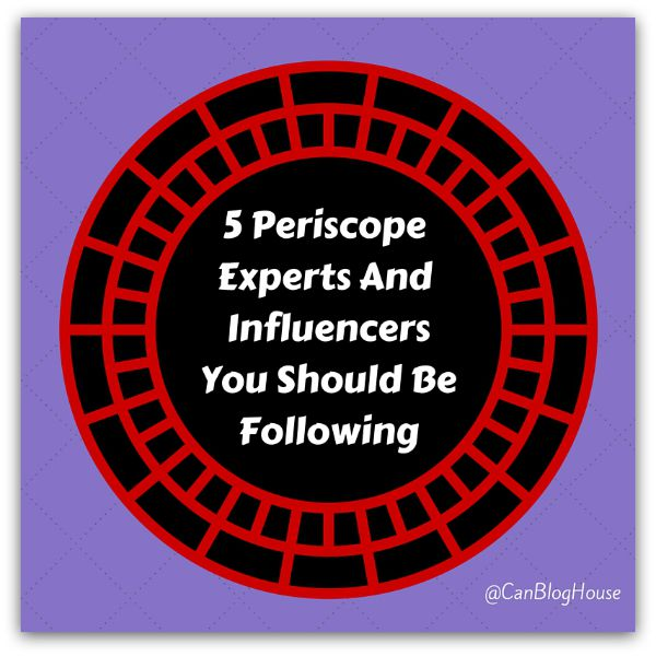 PeriscopeInfluencers
