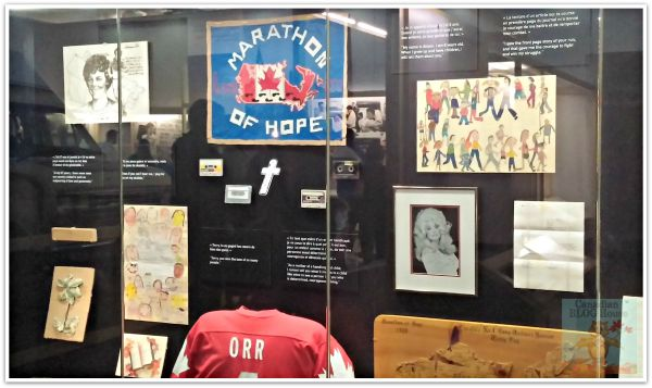 Just a few of the items sent to Terry Fox from his supporters