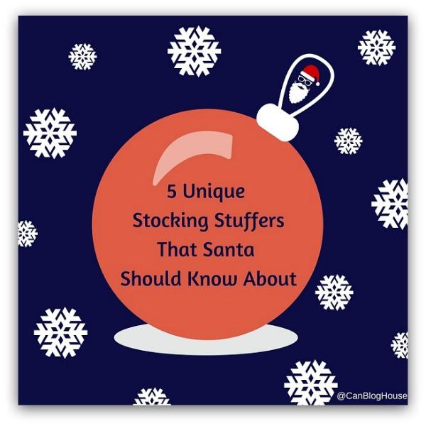 5 Unique Stocking Stuffers That Santa Should Know About
