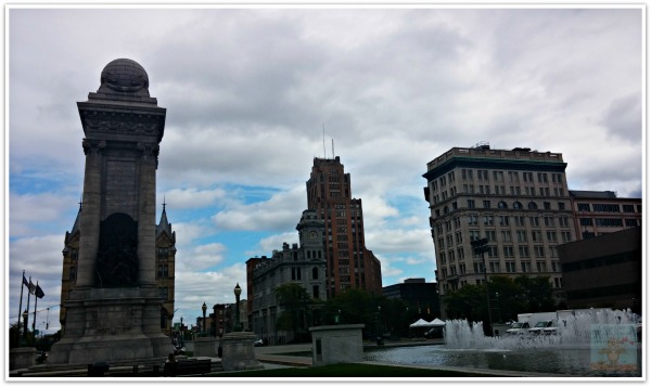 Downtown Syracuse New York