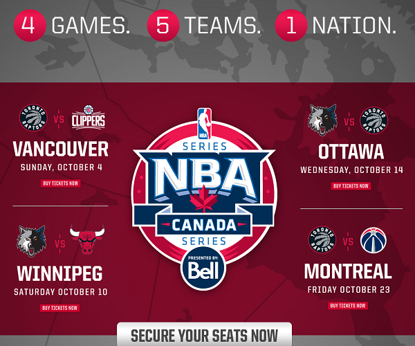 It's A Slam Dunk For Marriott Rewards Members With The NBA Canada Series! #AroundTheWorld #NBACanadaSeries