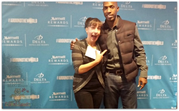 My Night Out With Marriott Rewards, The NBA…and Chauncey Billups! #NowThatsRewarding