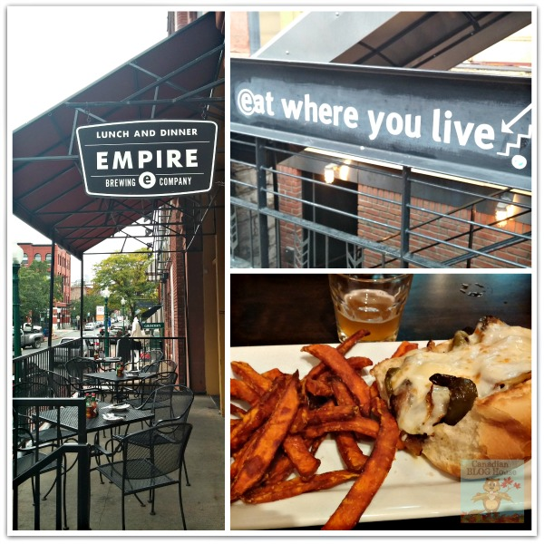 Empire Brewing Company eateries in Syracuse