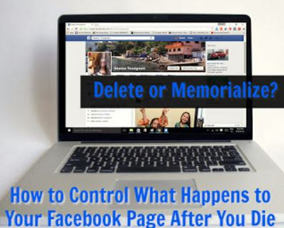 Memorializing Your Facebook Page When You Pass Away