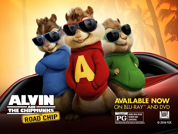 Alvin And The Chipmunks Are Off On A Road Chip! #Giveaway