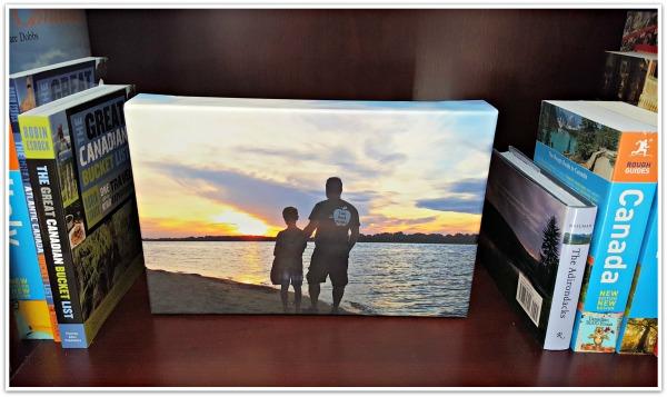 Ottawa River Sunset Canvas and Decor Canvas Print