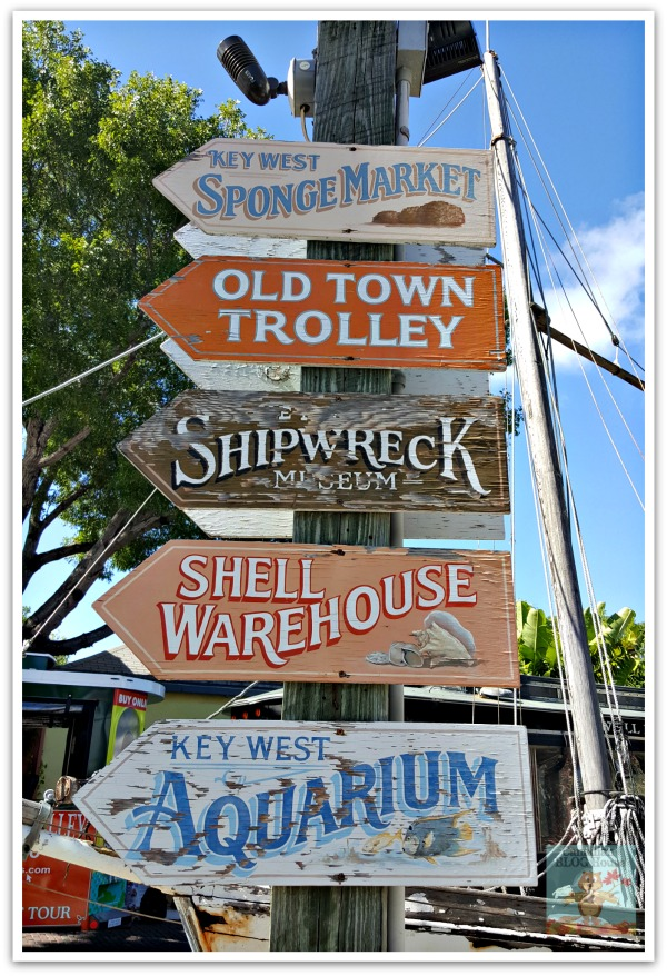 Key West Florida Signs in Quaint and Quirky Key West