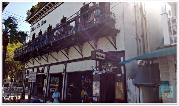 Key West Bull & Whistle Bar in Quaint and Quirky Key West