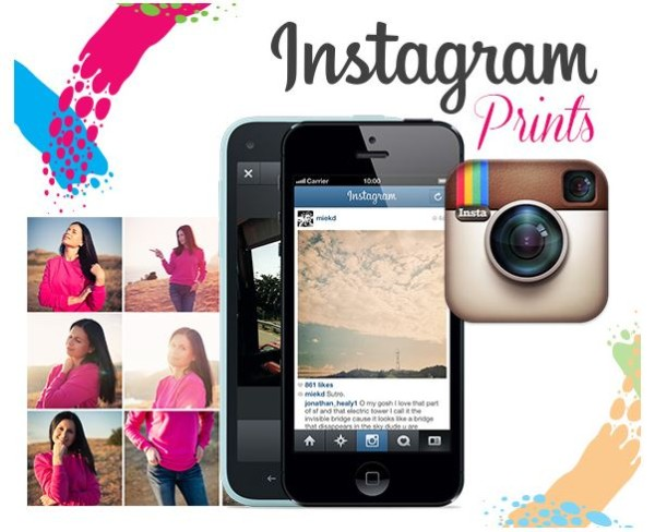 Canvas and Decor Instagram Prints
