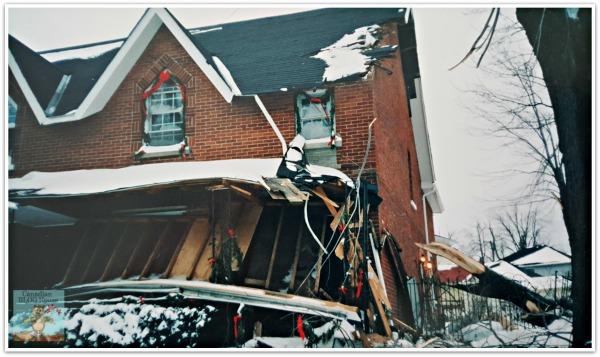 Storm Damage Ice Storm 1998 Kingston Ontario