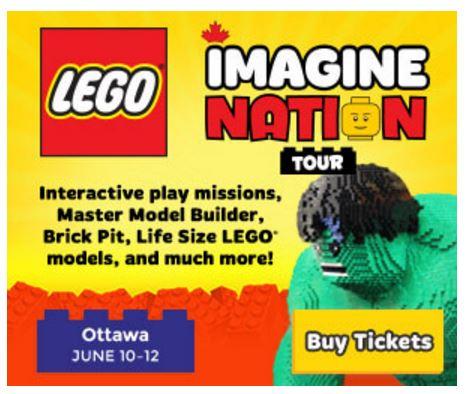 LEGO Imagine Nation Tour Ottawa