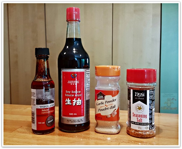 BBQ Chicken Wings Ingredients