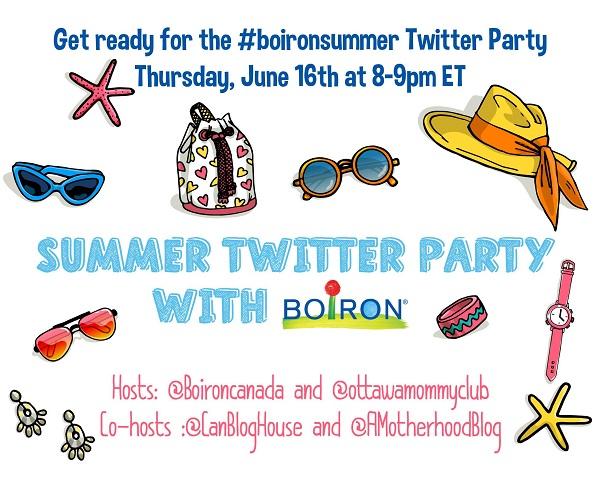 #BoironSummer Twitter Party