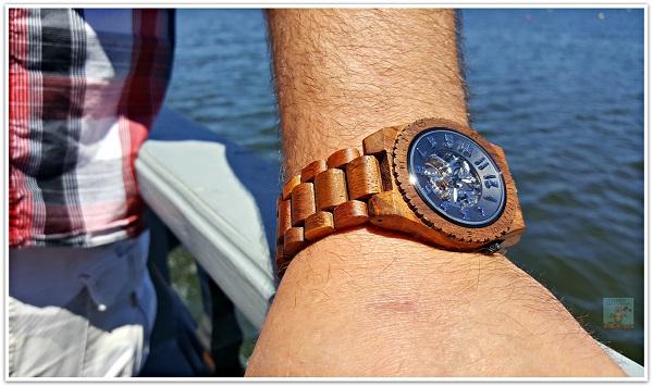 JORD Watch on Man's Wrist