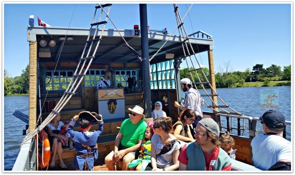 Pirate Adventures Passengers and Crew