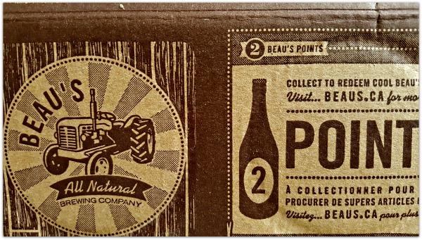 Beau's Lug-Tread Lagered Ale Packaging