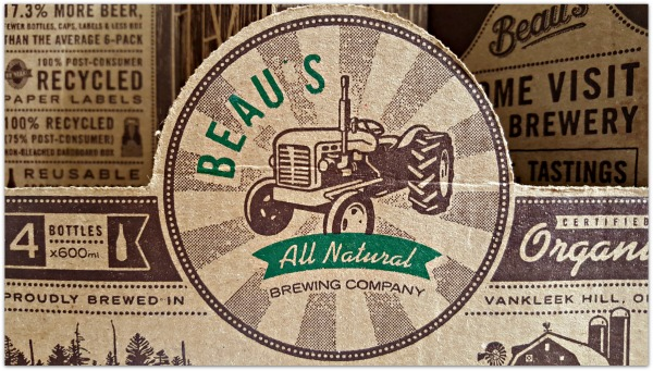 Beau's All Natural Lug-Tread  Ottawa's official beer