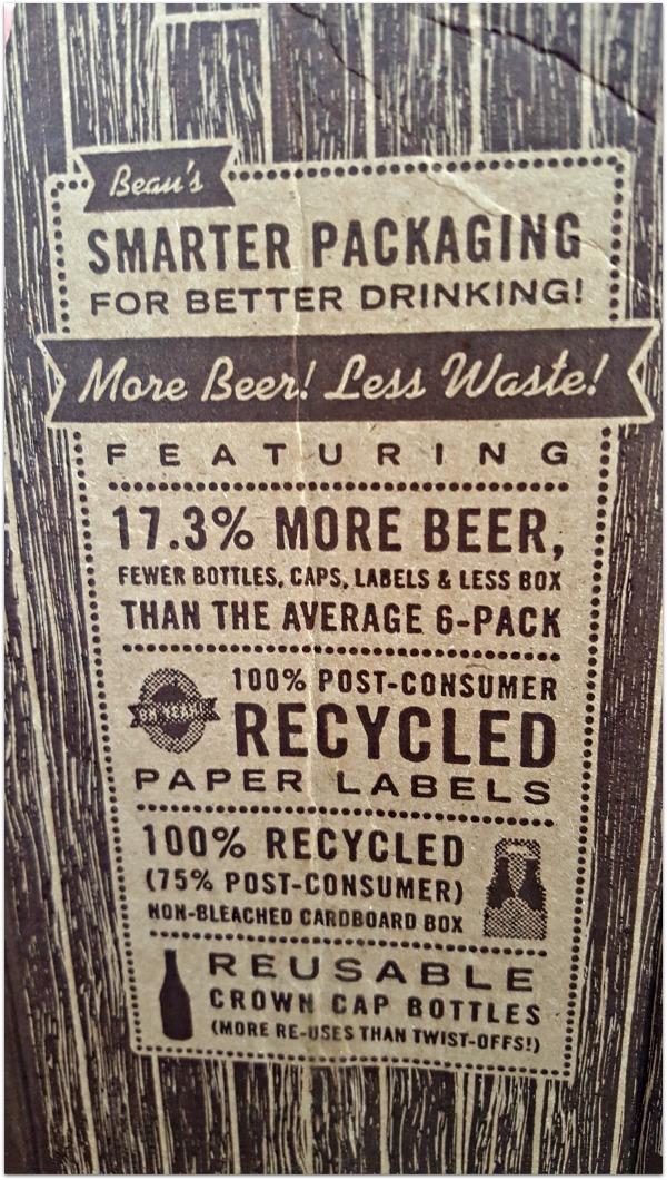 Beau's Lug-Tread Lagered Ale