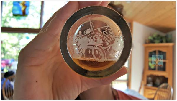 Beau's Lug-Tread Lagered Ale glass